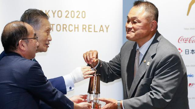 Api Olimpiade Tokyo Mulai Dipajang