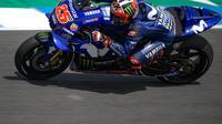 Pembalap Movistar Yamaha, Maverick Vinales. (MotoGP.com)