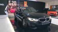 Preview all new BMW Seri 3 di ICE, BSD, Tangerang, Rabu (10/7/2019). (Arief/Liputan6.com)