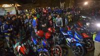 Suzuki Saturday Night Ride (SSNR) berlangsung akhir pekan lalu di Yogyakarta. (SIS)