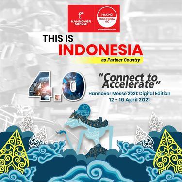 Indonesia terpilih sebagai partner country di Hannover Messe 2021 yang akan berlangsung 12-16 April