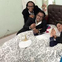 Bersama Mandra dan Suty Karno, Rano Karno kunjungi Aminah Cendrakasih (Instagram/@si.rano)