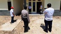 Pembangunan 25 unit rumah khusus untuk Aparatur Sipil Negara (ASN) Polri di Kecamatan Sarilamak, Kabupaten Lima Puluh Kota, Sumatera Barat (Sumbar).Dok PUPR