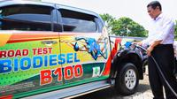 Impian Indonesia ciptakan biodisel B100 dari CPO (Crude Palm Oil) berhasil terwujud.