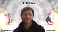 Luis Milla saat menghadiri bincang El Clasico Season 90 di aplikasi Zoom. (Foto: Liputan6.com)