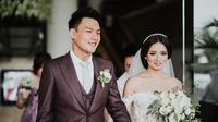 Fendy Chow dan Stella Cornelia menikah [foto: www.instagram.com/morden.co]