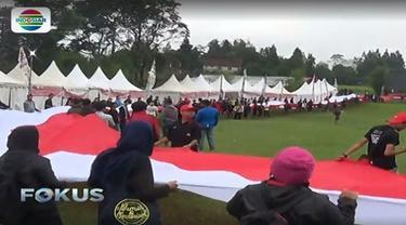 Ratusan mahasiswa dari 15 organisasi kemahasiswaan dari berbagai daerah di Indonesia kumpul di Bumi Perkemahan Cibodas, Cianjur, Jawa Barat.