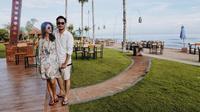 Syahnaz dan Jeje Govinda liburan ke Bali [foto: instagram]