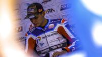 Pembalap tim Pertamina Mandalika SAG Team, Bo Bendsneyder di Moto2 Qatar. (Dokumentasi Pertamina Mandalika SAG Team)