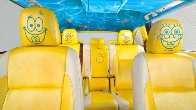 Begini Tampilan Toyota Highlander versi SpongeBob SquarePants (Foto: 4wheelsnews)