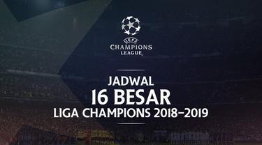 Berita video jadwal 16 besar Liga Champions 2018-2019 leg-2. Manchester United bertandang ke markas PSG di Parc Des Princes, Paris, Kamis (7/3/2018).