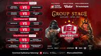 Pertandingan lengkap IEL University Super Series 2021 dapat disaksikan melalui platform streaming Vidio, laman Bola.com, dan Bola.net. (Dok. Vidio)