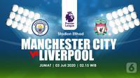PREDIKSI MANCHESTER CITY VS LIVERPOOL (Liputan6.com/Abdillah)
