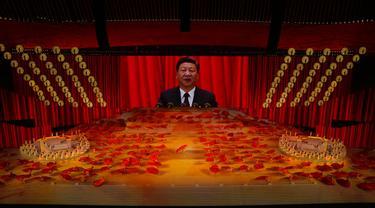 FOTO: Kemeriahan Peringatan 100 Tahun Partai Komunis China