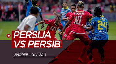 Berita video highlights Shopee Liga 1 2019 antara Persija Jakarta melawan Persib Bandung yang berakhir dengan skor 1-1 di SUGBK (Stadion Utama Gelora Bung Karno), Senayan, Rabu (10/7/2019).