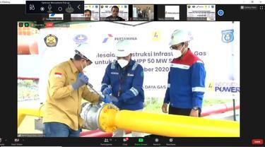 PGN Selesaikan Infrastruktur Gas PLTMG Sorong