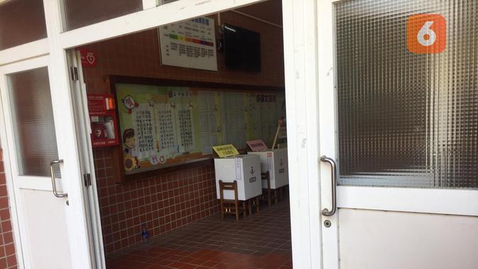 Kotak suara di pemilu Taiwan. (Teddy Tri Setio Berty/Liputan6.com)