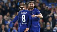 Chelsea menang empat gol tanpa balas atas PAOK Thessaloniki pada laga kelima Grup L Liga Europa, di Stamford Bridge, Kamis (29/11/2018) malam waktu setempat. (AFP/Ian Kington)
