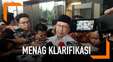 Menteri Agama (Menag) Lukman Hakim Saifuddin mengaku menerima Rp 10 juta dari Kepala Kantor Wilayah Kementerian Agama (Kakanwil Kemenag) Jawa Timur Haris Hasanuddin. Lukman mengatakan sudah menyerahkan uang tersebut ke KPK.