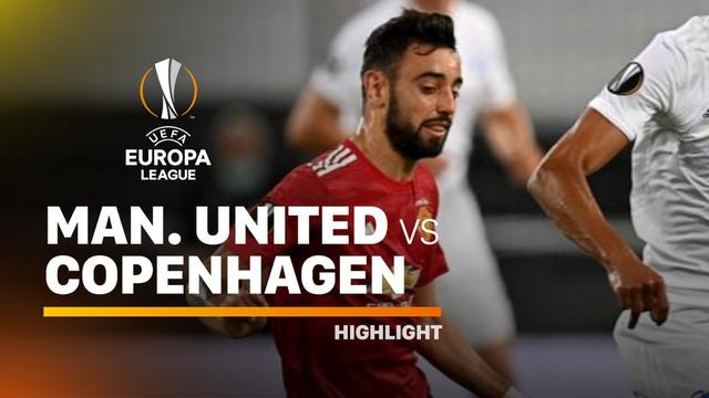 Berita video highlights perempat final Liga Europa 2019/2020 antara Manchester United melawan Copenhagen yang berakhir dengan skor 1-0 berkat gol penalti Bruno Fernandes, Selasa (11/8/2020) dinihari WIB.