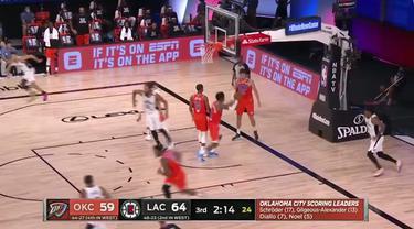 Berita Video Terance Mann Bawa LA Clippers Ungguli Oklahoma City Thunder di NBA