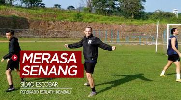 Berita video striker Silvio Escobar merasa senang timnya, Persikabo, kembali berlatih untuk persiapan Liga 1 2020.
