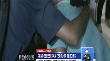 Hingga Rabu pagi, polisi menggunakan bantuan robot untuk melakukan penyisiran dan sterilisasi bahan peledak di rumah terduga teroris.