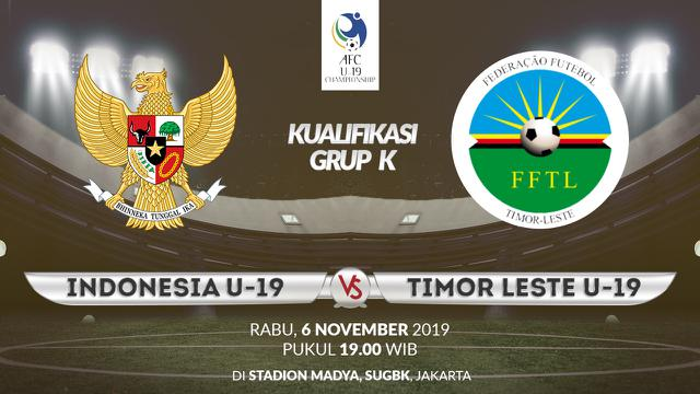 Indonesia U-19 vs Timor Leste U-19