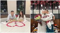 Pasangan selebriti yang rayakan Hari Valentine usai resmi jadi suami istri. (Sumber: Instagram/@alisyakieb/@ferdinan_sule)
