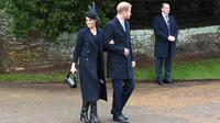 Meghan Markle dan Pangeran Harry (Foto: Paul ELLIS / AFP)