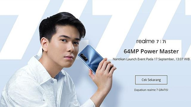 Hadir 17 September, Realme 7i Dilengkapi Snapdragon 662 - Tekno Liputan6.com