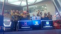 PT Menteng Heritage Realty Tbk resmi dicatatkan dan diperdagangkan di Bursa Efek Indonesia (BEI) pada hari ini, Jumat (12/4/2019). Liputan6.com/Bawono