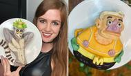 Kue berbentuk karakter kartun. (Instagram/@bakingthursdays)