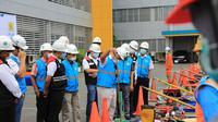 PT PLN Unit Induk Wilayah Sumatera Utara (Sumut) melakukan apel siaga