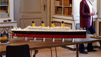 Tampilan Kapal Titanic produksi LEGO. (dok. lego.com)