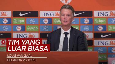 Cover Berita Video, Komentar Louis van Gaal usai Bantai Turki 6-1