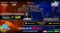 Link Live Streaming di Vidio, Fun Match & Talk Show Side Content PBNC 2021: Zepetto vs BOWLeague. (Sumber : dok. vidio.com)