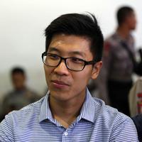 Arief Soemarko, suami Wayan Mirna Salihin. (Nurwahyunan/Bintang.com)