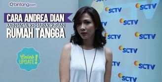 Andrea Dian selalu terbuka dan jujur terhadap Ganindra Bimo.