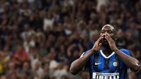 5. Inter Milan (170 juta euro) - Pembelian Romelu Lukaku, Valentino Lazaro, Matteo Politano. (AFP/Miguel Medina)