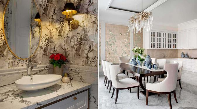 Desain Interior Rumah Panggung Minimalis  6 desain interior rumah klasik kekinian nan elegan