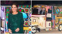 Momen Kate Middleton Saat di Pakistan, Pakai Baju Tradisional Hingga Naik Bajaj (sumber:Splashnews)