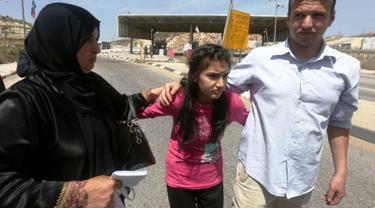 Israel bebaskan tahanan termuda Palestina