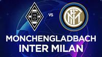 Liga Champions - Borussia Monchengladbach Vs Inter Milan (Bola.com/Adreanus Titus)