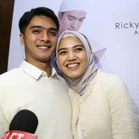 Ricky Harun dan Herfiza Novianti (Surya Hadiansyah/Liputan6.com)