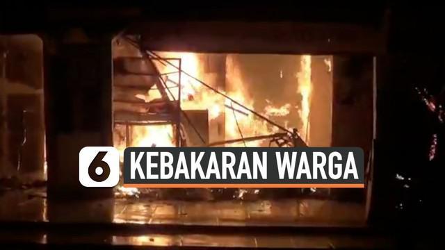 Kebakaran hebat melanda belasan ruko dan permukiman warga Cileungsi Bogor. Diduga kebakaran akibat korsleting listrik di salah atu ruko yang merembet hingga ke permukiman warga. Kebakaran masih dalam penyelidikan Polisi.