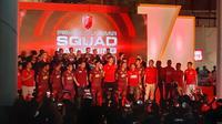 PSM saat launching tim di Mal Nipah Makassar, Sabtu malam (4/5/2019). (Bola.com/Abdi Satria)