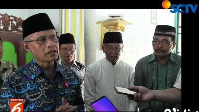 Ketetapan ini disampaikan Ketua PP Muhammadiyah saat peresmian Masjid Ar Fahruddin di Tambak, Kecamatan Wates, Kulonprogo.
