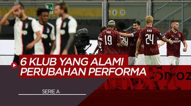 Berita Video Klub-Klub Serie A yang Alami Perubahan Performa di Masa New Normal, Termasuk Lazio dan AC Milan