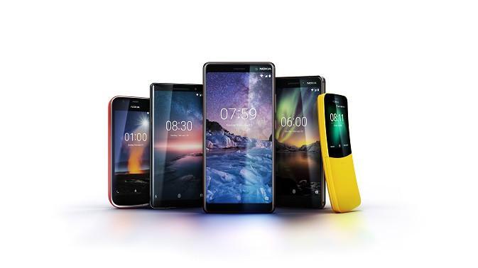 Deretan produk anyar Nokia yang diperkenalkan HMD Global (sumber: HMD Global)